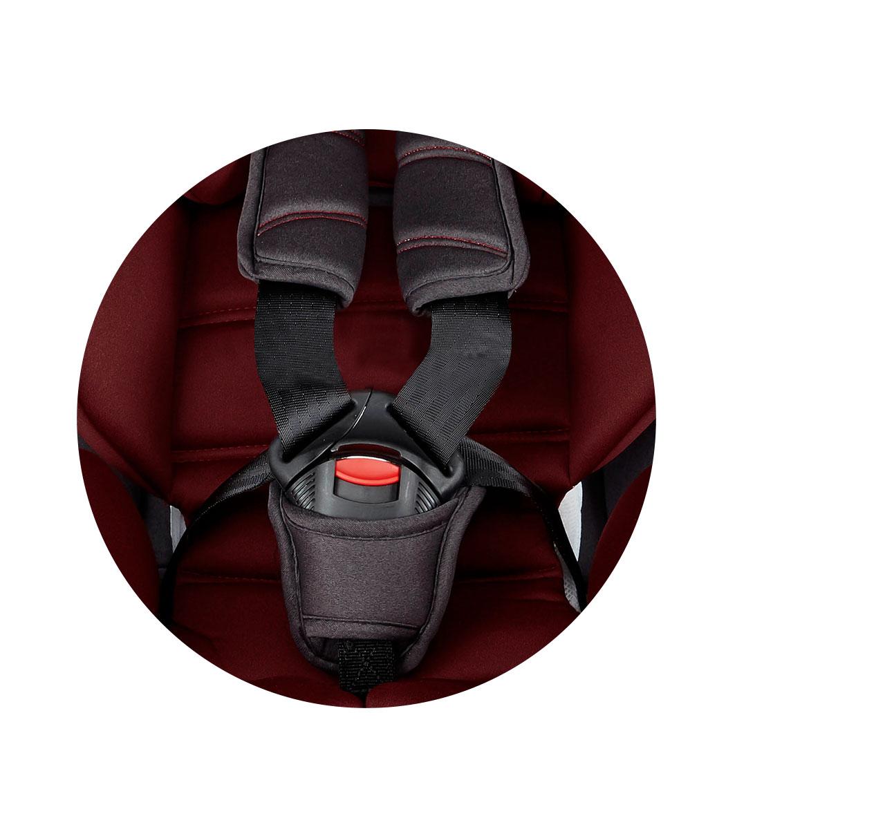 Silla de auto DENVER 360º GRUPO 0/I/II/III ISOFIX Rojo imagen 13