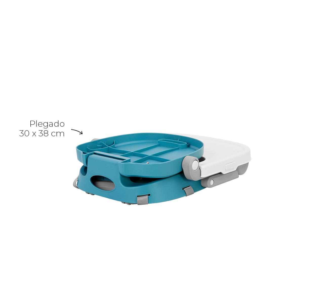 Silla de Comer OSAKA Booster Verde imagen 10
