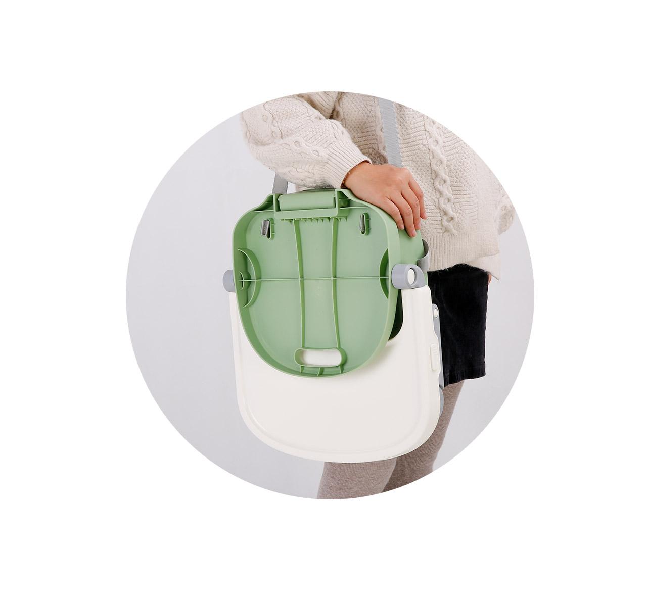 Silla de Comer OSAKA Booster Verde imagen 12