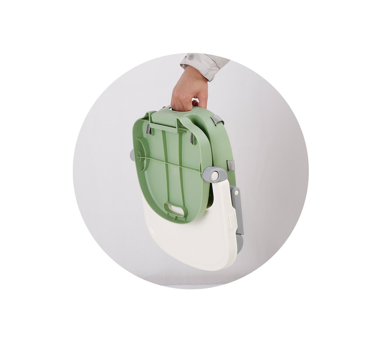 Silla de Comer OSAKA Booster Verde imagen 13