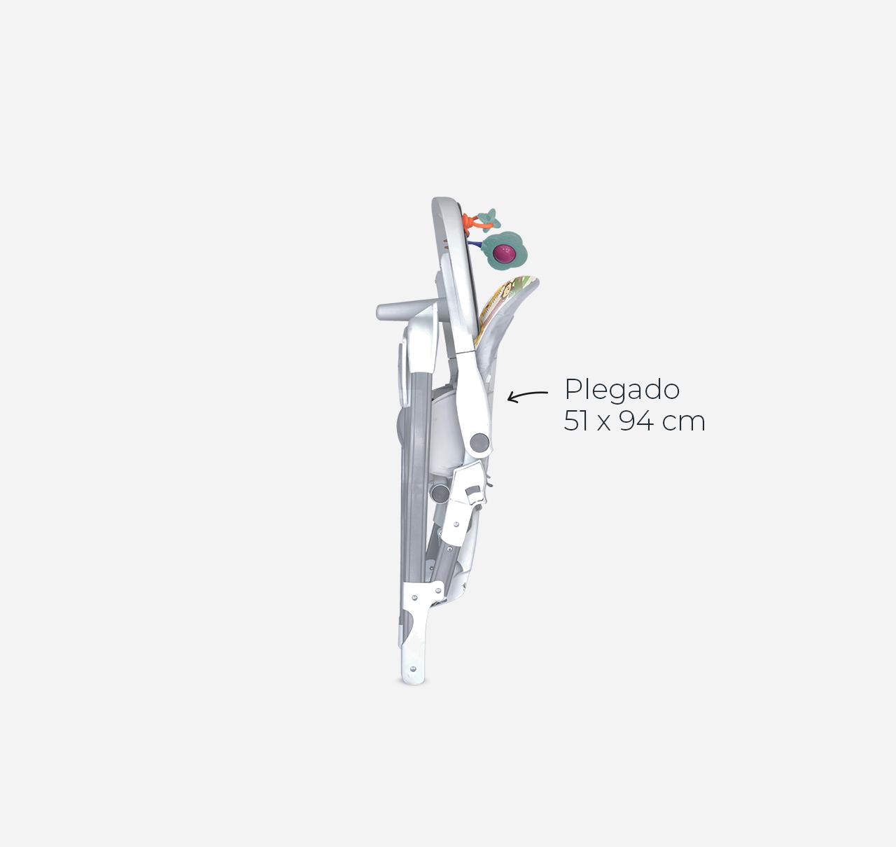 Silla de Comer RIO Rosa imagen 9